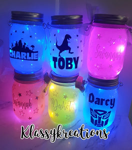 Personalised Solar Hanging Light