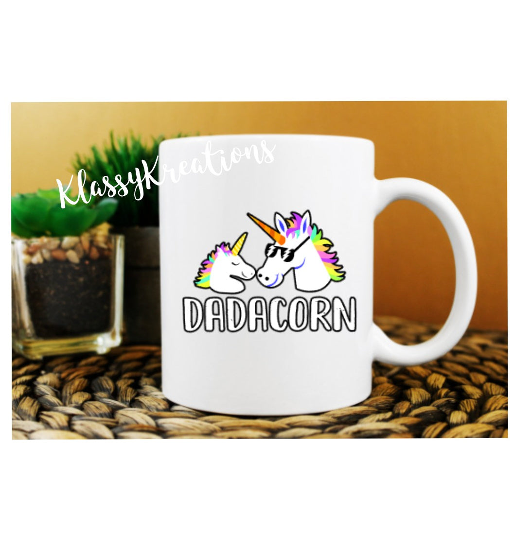 FATHER'S DAY Mug Dadacorn - 11oz
