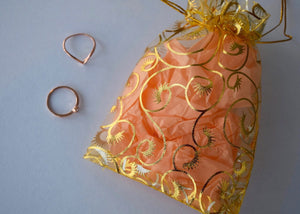 ROSE GOLD MYSTERY RING BAG