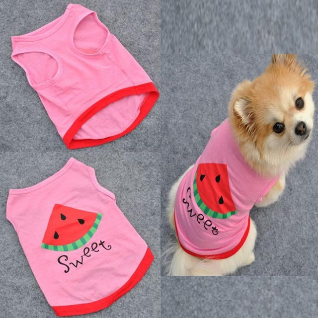 Watermelon Dog Vest - Style for Pets