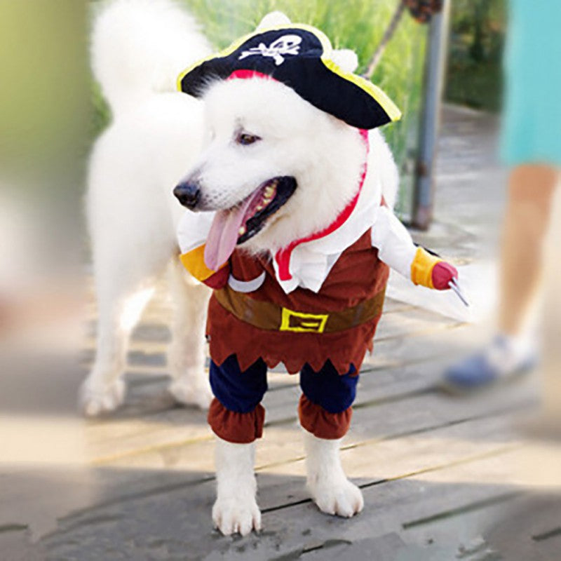 Pirate of the Caribbean Dog Costume - Style for Pets