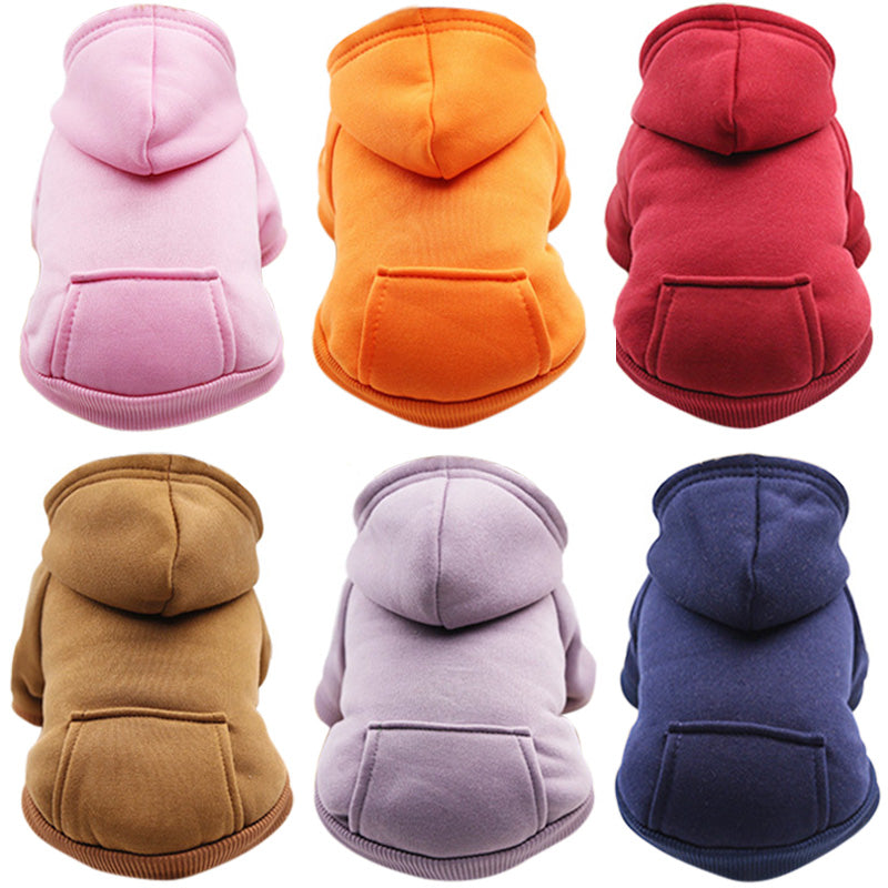 Casual Colorful Hoodies - Style for Pets