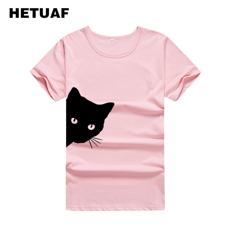 The Curious Cat T-Shirt - Style for Pets