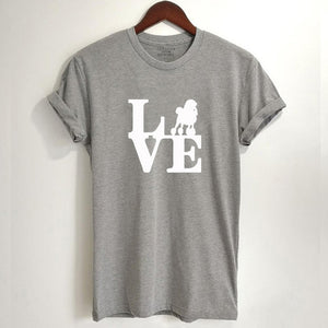 LOVE Poodle T-Shirt - Style for Pets