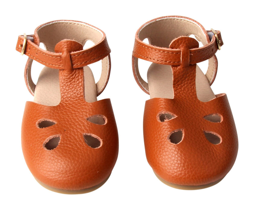 Cardinal - Grace Flat - US Size 5-8 - Hard Sole Shoes Deer Grace