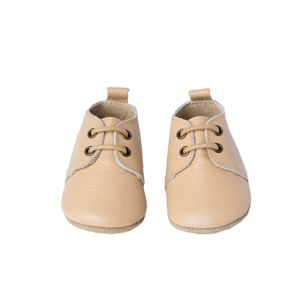 Sand - Oxford - Soft Sole Shoes Deer Grace