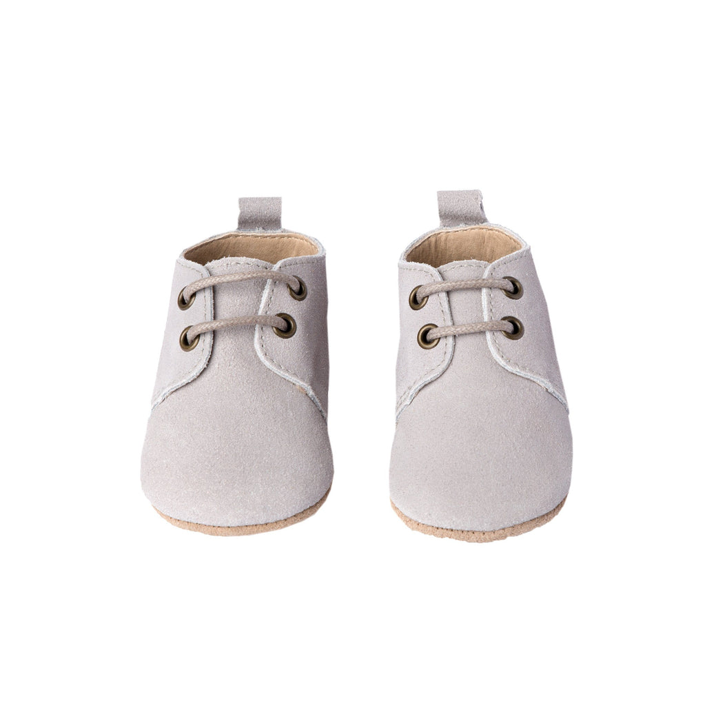 Fog Suede - Oxford - Soft Sole Shoes Deer Grace