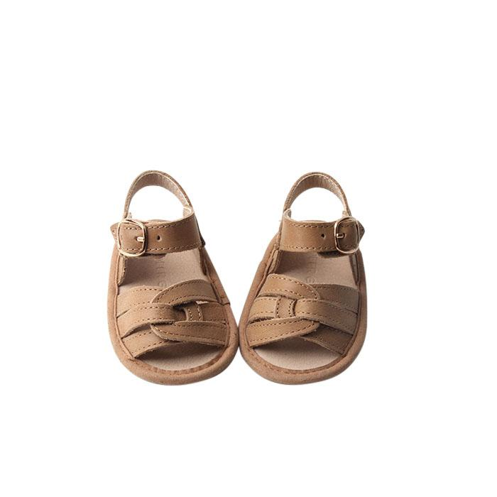 Saddle - Desert Sandal - US Size 1-4 - Soft Sole Shoes Deer Grace