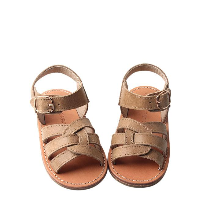 Saddle - Desert Sandal - US Size 5-9 - Hard Sole Shoes Deer Grace