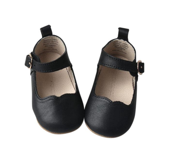 Midnight - Mary Jane US Size 1-4 - Soft Sole Shoes Deer Grace