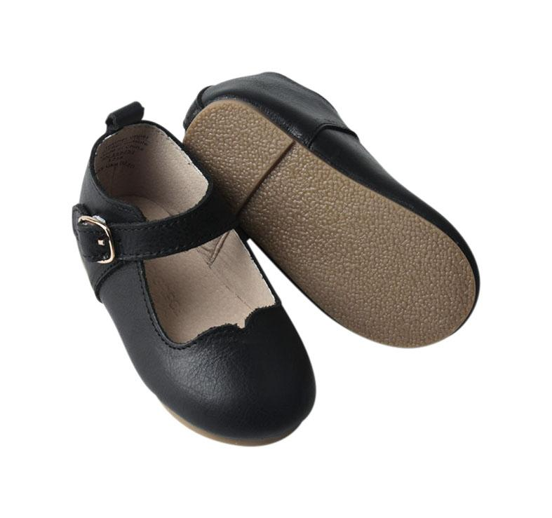 Midnight - Mary Jane - US Size 5-8 - Hard Sole Shoes Deer Grace