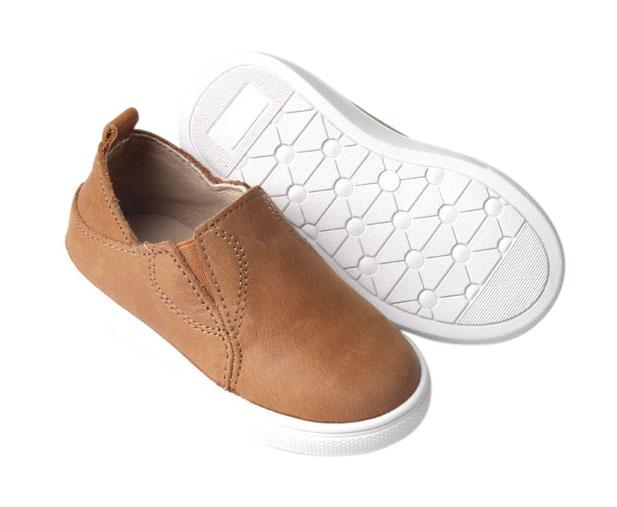 Saddle - Slip On Sneakers - US Size 5-10 - Hard Sole Shoes Deer Grace