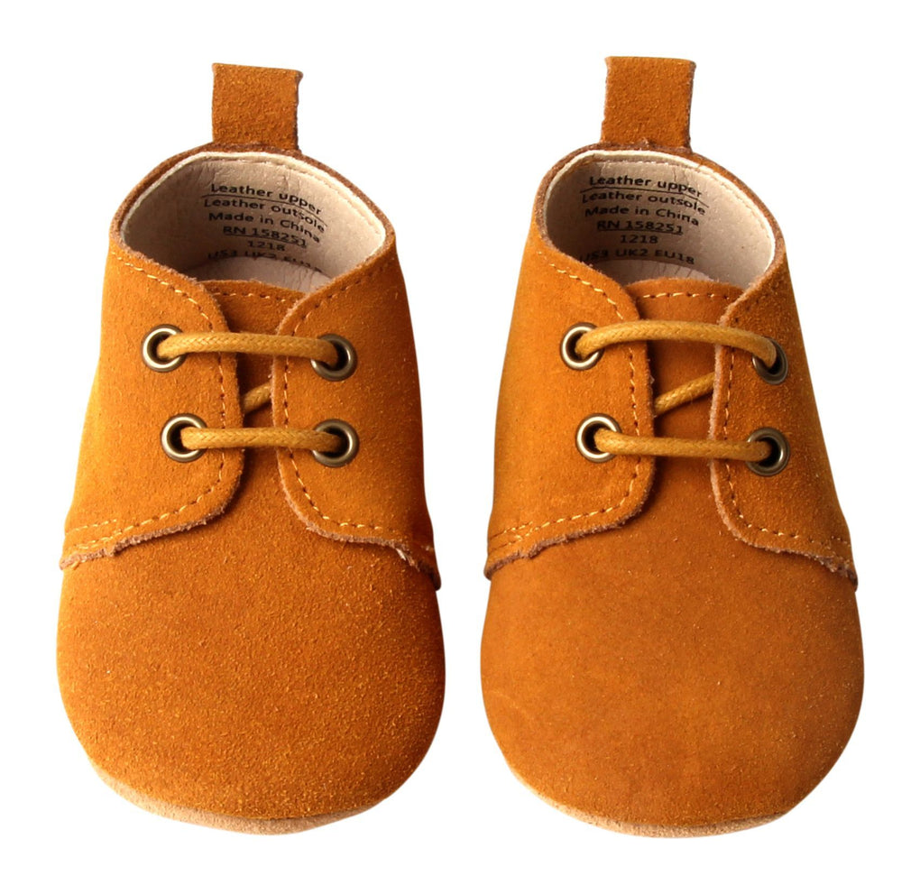 Mustard - Oxford - US Size 1-4 - Soft Sole Shoes Deer Grace