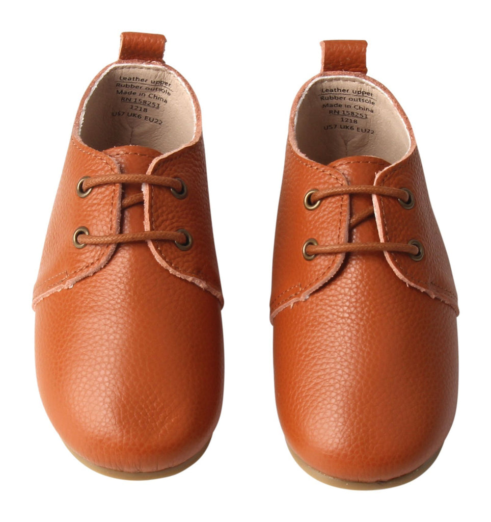 Cardinal - Oxfords - US Size 5-8 - Hard Sole Shoes Deer Grace