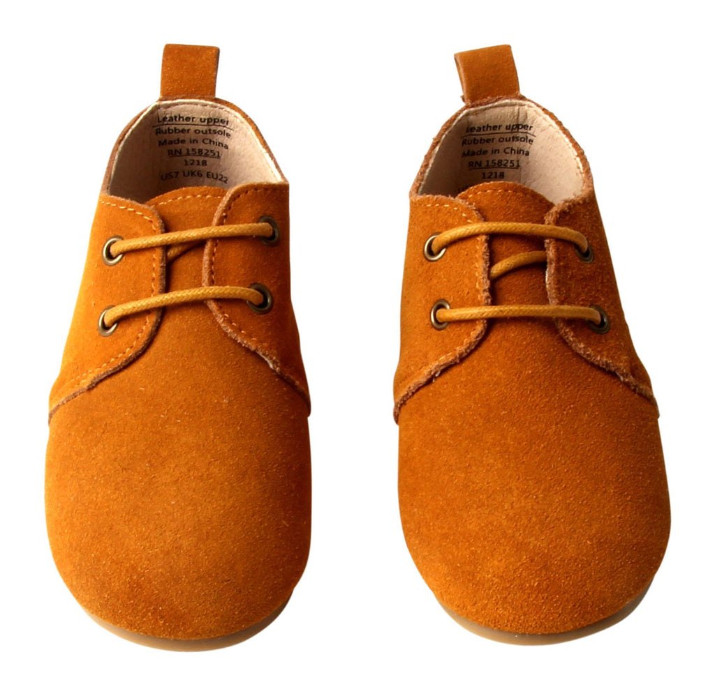 Mustard - Oxfords - US Size 5-8 - Hard Sole Shoes Deer Grace
