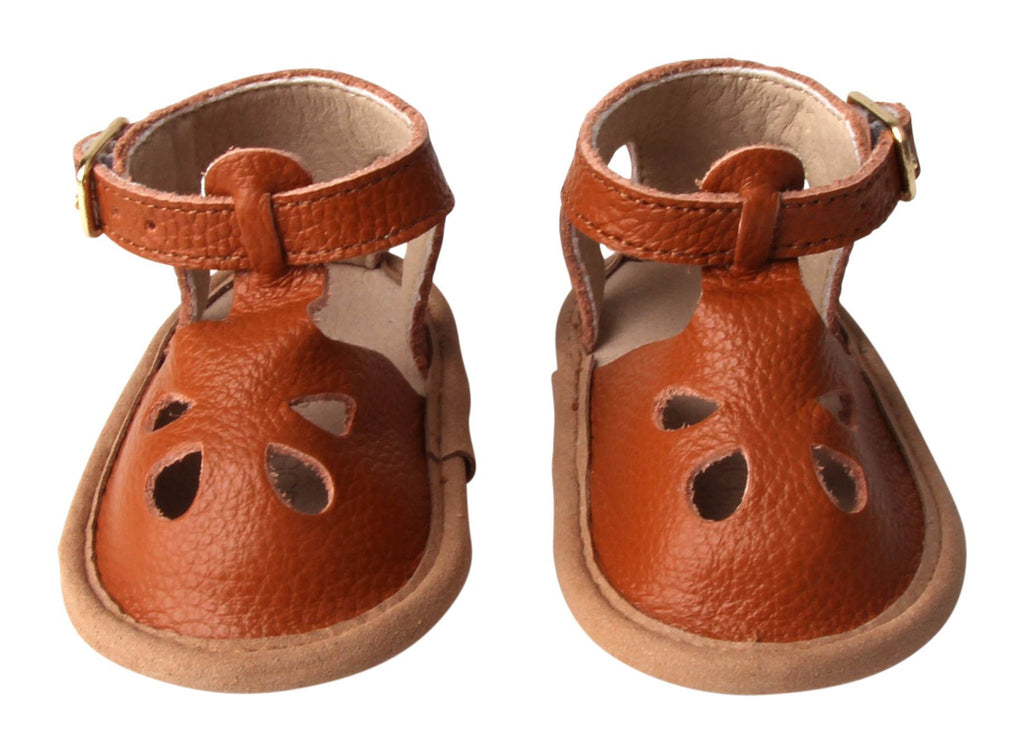 Cardinal - Grace Flat - US Size 1-4 - Soft Sole Shoes Deer Grace