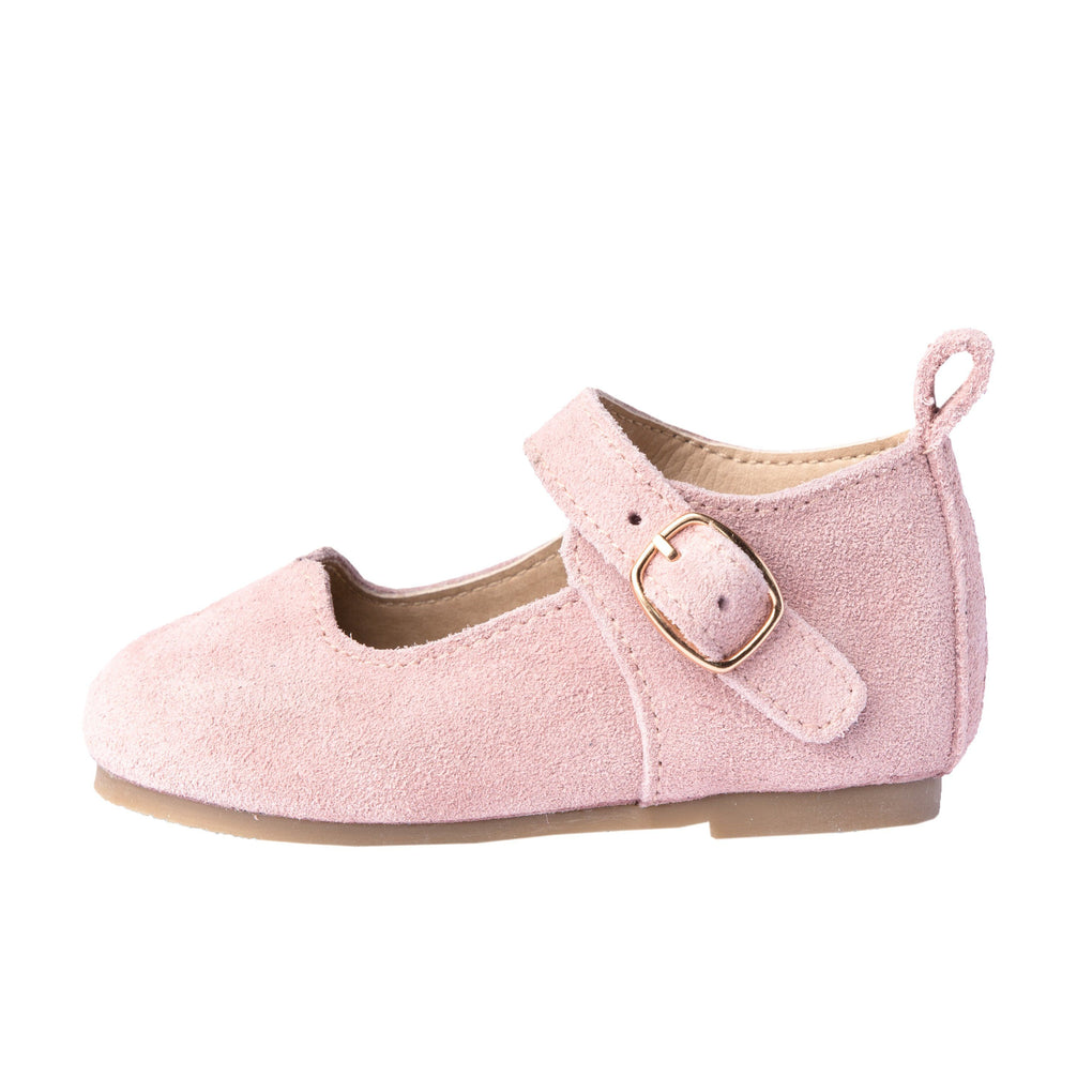 Rose Suede - Mary Jane - Hard Sole Shoes Deer Grace