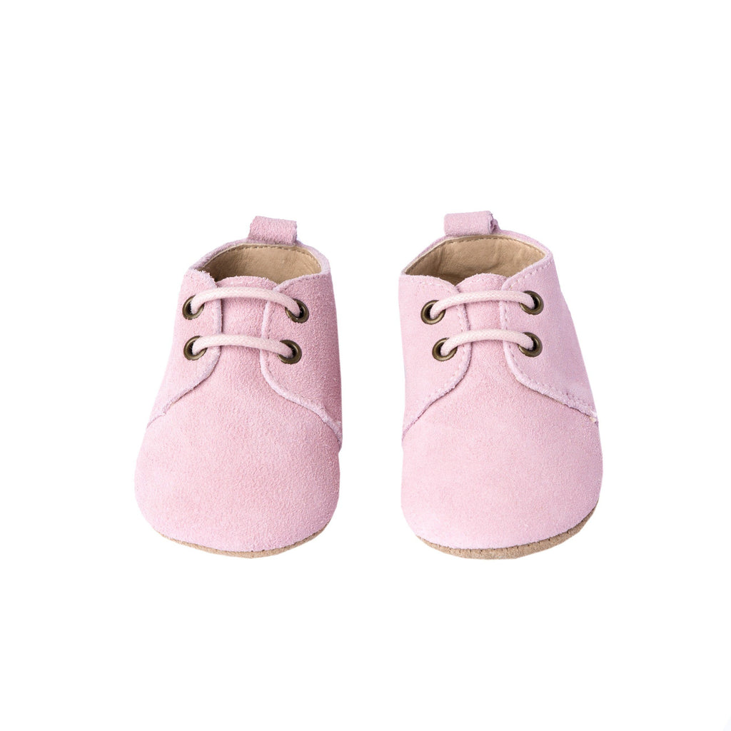 Peony Suede - Oxford - Soft Sole Shoes Deer Grace