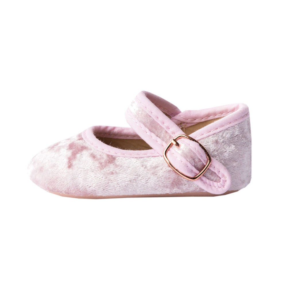 Berry Velvet - Mary Jane - Soft Sole Shoes Deer Grace
