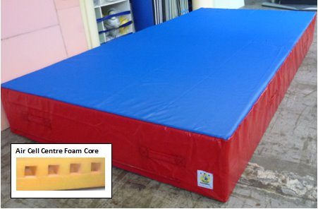 Air Cell Centre Crash Mat