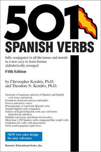 501 Spanish Verbs - 5th Edition - Book Crate