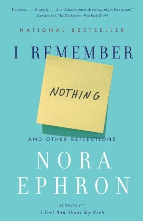 I Remember Nothing: And Other Reflections - Book Crate