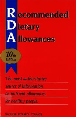 Recommended Dietary Allowances - Book Crate
