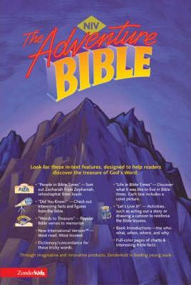 Adventure Bible, Revised, NIV - Book Crate