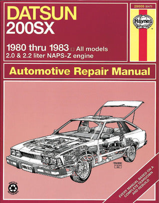 Datsun 200SX 1980-83 Owner's Workshop Manual - Book Crate