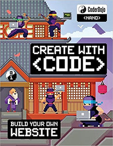 CoderDojo Nano: Building a Website: Create with Code - Book Crate