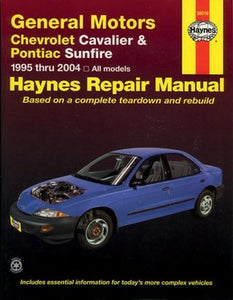 general motors chevrolet cavalier pontiac sunfire 1995 thru 2004 rh bookcrate org Online Repair Manuals Haynes Repair Manual 1987 Dodge Ram 100