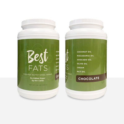 Chocolate Flavored High-Fat Nutritional Shake (14 servings)