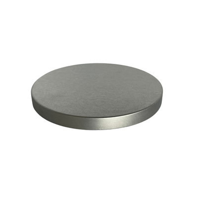 101 x 10mm Brushed Silver Lid