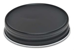 70MM Continuous Thread Black Lid