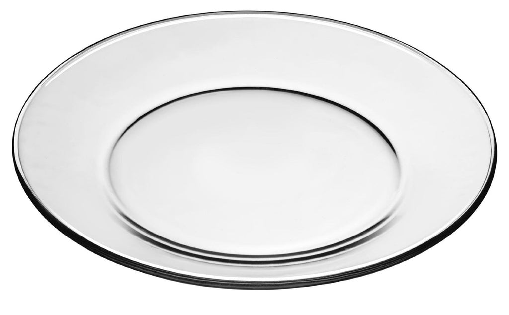 Libbey Crisa Glass Plate- pack of 12