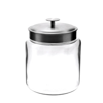 Anchor 6 oz Mini Montana Jar with Stainless Steel Lid