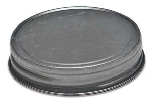 70MM Continuous Thread Antique Pewter Lid
