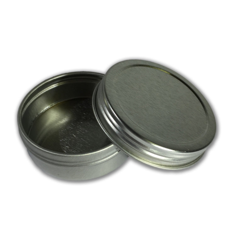 1 oz. Seamless Tin with Screw Top Lid