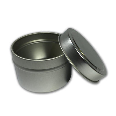 8 oz. Seamless Tin with Solid Lid