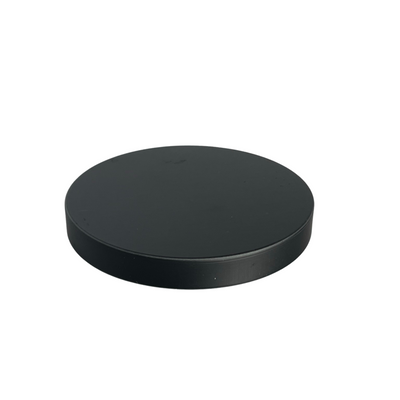 75 x 10mm Matte Black Lid