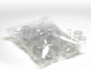 Plastic Tealight Cup .75 in.     Bag of 100