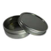 2 oz. Seamless Tin with Screw Top Lid