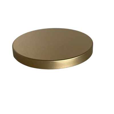 85.5 X 10mm Brushed Gold Plug Lid