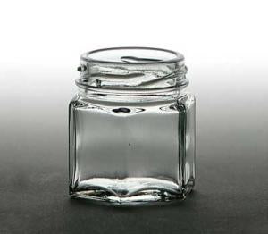 Hexagon Jar 1.5 oz.