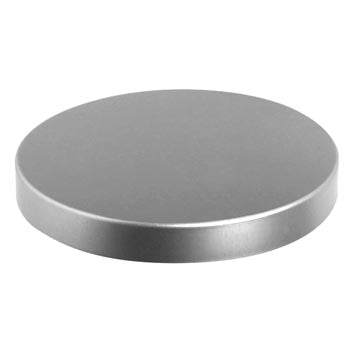 75 x 10mm Silver Brushed Lid