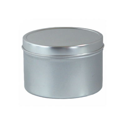 2 oz. Deep Tin with Seamless Lid