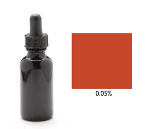 Candle Dye - Burnt Orange 1 oz. (Bottle w/eye dropper)