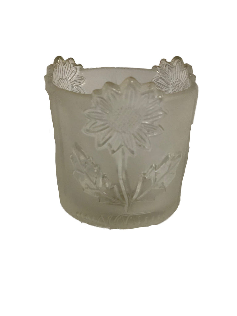 4 oz. Frosted Votive, Sunflower- pack of 24