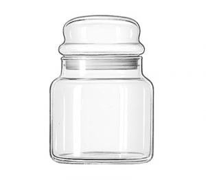 Classic Storage Jar w/Bubble Lid 22 oz. (Libbey)