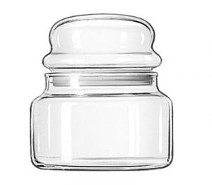 Classic Storage Jar w/Bubble Lid 15 oz. (Libbey)